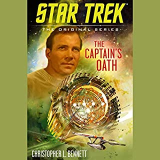 The Captain's Oath     Star Trek: The Original Series              By:                                                                                                                                 Christopher L. Bennett                               Narrated by:                                                                                                                                 Robert Petkoff                      Length: 10 hrs and 30 mins     Not rated yet     Overall 0.0