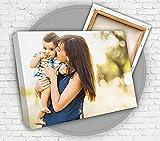 YISAMA Cuadro Personalizado con Foto en Lienzo con Bastidor de 20x30 Cm.