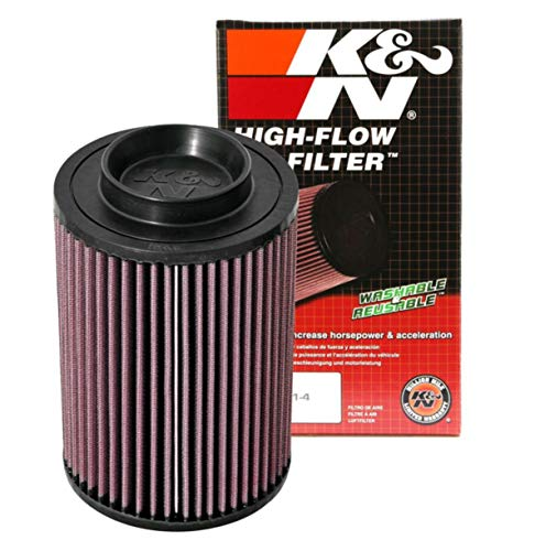 K&N Engine Air Filter: High Performance, Premium, Powersport Air Filter: 2008-2016 POLARIS (Ranger, 6x6, 800, EFI, EPS LE, Mid-Size, Crew 800, Diesel, RZR 800, and other select models) PL-8007
