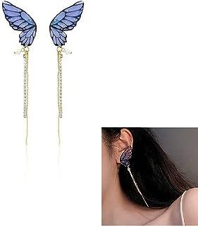 Mode féminine papillon nouveauté boucles d'oreilles pendantes pour femmes filles bijoux de bal cadeaux de fête des mères