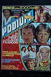 PODIUM HIT 78 AOUT 1978 PATRICK JUVET BEE-GEES CLAUDE FRANCOIS SHEILA RINGO + POSTER MICHEL SARDOU BONEY M ROLLING STONES