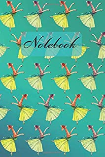 Notebook: Giraffes Dance - Diary / Notes / Track / Log / Journal , Book Gifts For Dad Mom Boys Girls Friends Kids Teens 6x9