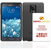 Samsung Galaxy Note Edge Extended Battery ,Zerolemon Samsung Galaxy Note Edge 9000mAh Extended Battery + Black TPU Full Edge Protection Case - Black