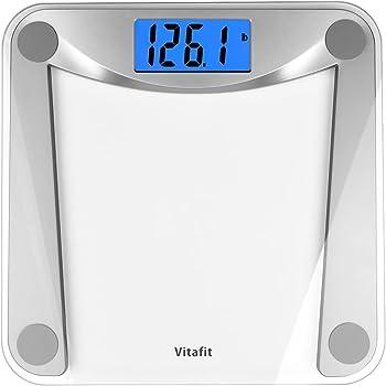 Vitafit VT1703U Digital Bathroom Weighing Scale with Step-On Technology