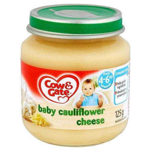 Cow & Gate - Baby Food 4-6 Months - Baby Cauliflower Cheese - 125g (Case of 6)