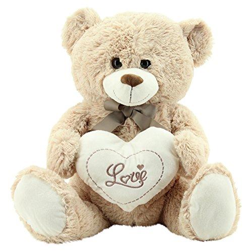 Sweety Toys 9008 Valentine Teddy Teddybär Plüschbär 60 cm mit Herz Love
