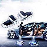 2PCS Sportello d'auto ha condotto il marchio lampada del proiettore di...