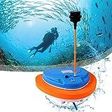 ZhiLianZhao Dispositivos Respiración Aire Subacuático, Mini Compresor Buceo Hookah,...