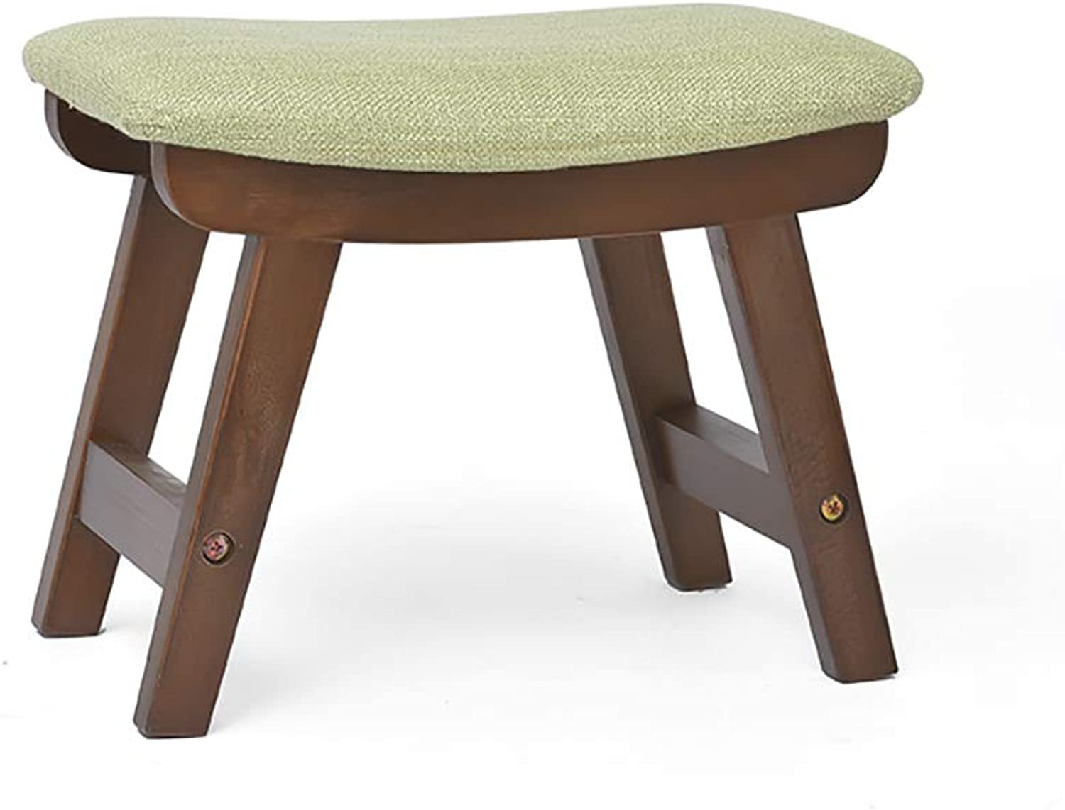 European Chair Solid Wood shoes, Stool, Living Room, Footstool, Home Fabric, Stool, Fashion, Adult Stool (color   B)