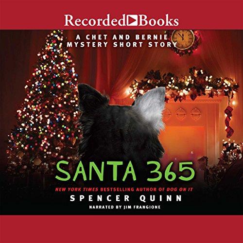 Santa 365 audiobook cover art