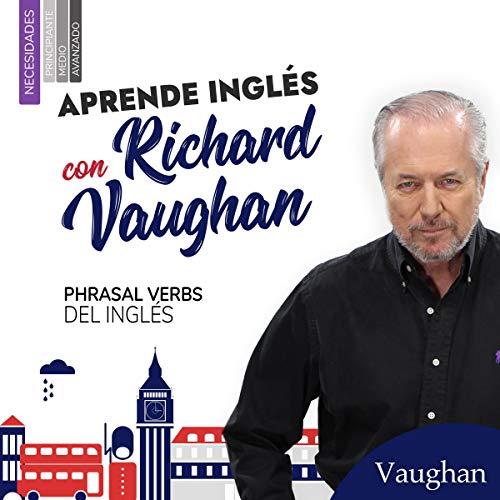 Diseño de la portada del título Phrasal Verbs en inglés