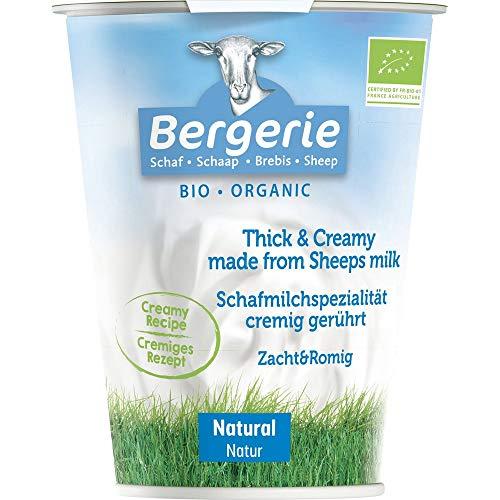 Bergerie Schaf Bio Schafjoghurt Natur (6 x 400 gr)