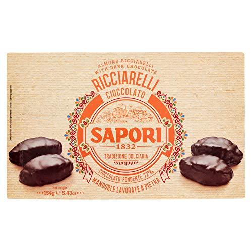 Sapori Ricciarelli Ricoperti Cioccolato, 154g