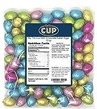 By The Cup Dark Chocolate Easter Eggs 10 oz Bulk Bag