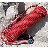 Escalade corde de sauvetage de corde for la corde de parachute de secours d'urgence for durable résistant à l'usure secours incendie for la recherche de protection technique de sauvetage de camping tr