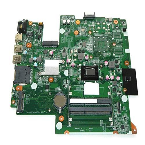YLYWCG Tablero de reemplazo de computadora Placa Madre Portátil Placa Base Fit For HP 14-B Portátil con I3-3217U CPU DDR3 HM77 Placa Base de computadora de Escritorio