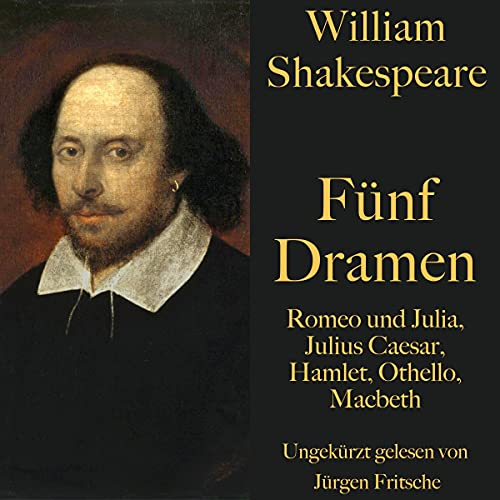 Romeo und Julia / Julius Caesar / Hamlet / Othello / Macbeth Titelbild