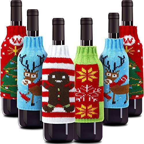 Wine Bottle Cover Knit Sweaters