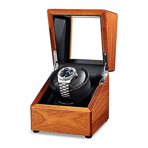 Oksmsa Cajas Giratorias para Relojes para Soltero Automático Relojes con Motores Silenciosos Y 5 Modos De Rotación por C.A. Adaptador O Batería (Color : A)