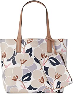 Arch Place May Reversible Tote, Breezy Floral Beige