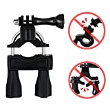 AxPower Bike Handlebar Mount Motorcycle Bicycle Seatpost Holder Accessory for GoPro Hero 5/4/3 GoPro 6 7 8 Xiao Yi 4K Campark ACT76 ACT74 AKASO EK7000 Apeman Action Camera Harley Davidson