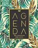 Agenda Del Profesor 2021 2022: Cuaderno del Profesor y Agenda 2021 - 2022 - Agendas Escolares para Profesores | Listas para...