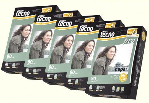 2.500 Blatt Inapa tecno pro 80g/m² DIN-A4 Druckerpapier Papier
