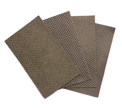 Diamond Sandpaper Hand Sanding Sheet Polishing Paper Set for Glass Marble Concrete Granite