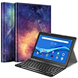 Fintie Tastatur Hülle Kompatible für Lenovo Tab M10