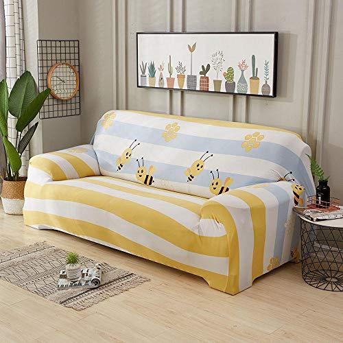 HXTSWGS Protector de Muebles,Funda elástica para Asiento de sofá, Funda Protectora Lavable para sofá Funda decorativa-G274679_90-140cm