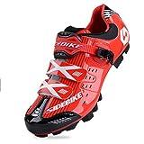 TXJ Zapatillas transpirables para hombre para bicicleta de montaña (se recomienda elegir una talla más grande de lo habitual) Multicolor Size: 43 EU