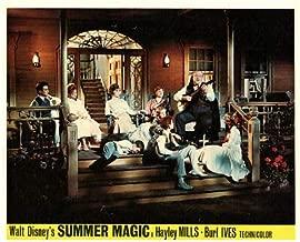 Summer Magic Original Disney Lobby Card Hayley Mills Dorothy McGuire Burl Ives