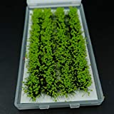JXXDDQ Modelo de construcción Árbol Vegetación Plantas Tren ferroviaria Mesa de Arena Militar Modelo de Materiales de Bricolaje Micro Paisaje Decoración (Color : Green)