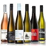 GEILE WEINE Weinpaket EINFACH TRINKEN (6 x 0,75l) Probierpaket mit Weißwein, Rotwein und Roséwein von Winzern aus Deutschland, Italien und Portugal