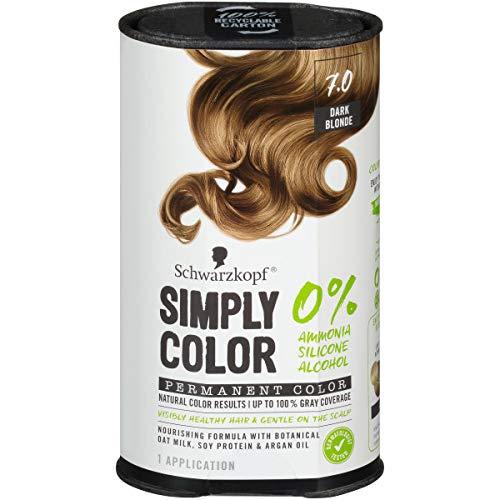 Schwarzkopf Simply Color Hair Color, 7.0 Dark Blonde