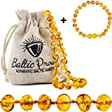 Best Baltic Amber Teething Necklaces - Baltic Amber Necklace and Bracelet Gift Set Review