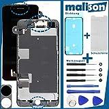 Malison - Set de reparación para Apple iPhone 8+ Plus, pantalla LCD de retina, incluye pantalla táctil, junta, protector de pantalla y juego de herramientas