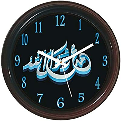 Wall Clock muha, Shab. Name .dial 9.for Home & Office Decor