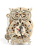 Thinas Owl Clock - 3D Puzzle, Wooden Toys,...