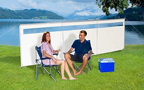 Berger Windschutz Ventana ohne Fenster Strand Sichtschutz Meer Windschutz Camping See Sonnenschutz