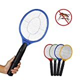 Takestop® - Raqueta eléctrica recargable matamosquitos, antimosquitos tigre, moscas,...
