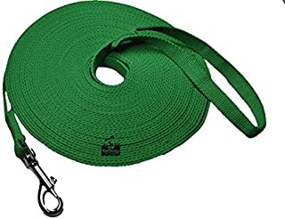 Long Dog Puppy Obedience Recall Training Agility Lead, Leash - Green, 20' Foot - by, Downtown Pet Supply