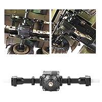 RCギアフロントアクスル、RCドライブシャフト、1/16用の耐久性のある絶妙なRCクローラーカーRCカー6輪RCカーリモートコントロールカー(Rear axle)