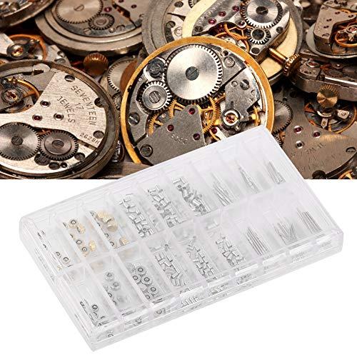 Uhr Krone Ersatzteile, Watch Crown Tube Steam Set Professionelle Uhr, Die Zubehörteile Edelstahl Sortiert Uhr Krone Teile für Uhren Repariert