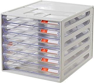 Rangement de dossiers De Haute qualité à Haute Transparent différentes résine tiroirs Tiroirs Articles Plastiques - 26x34x...