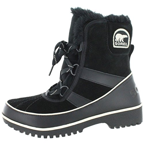 Sorel Women's Tivoli II Snow Boot, black, 8 M US