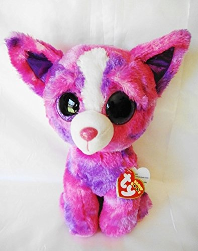 Ty Justice Store Exclusive DAKOTA the Chihuahua DOG 9' Medium Beanie Boo BUDDY-Rare