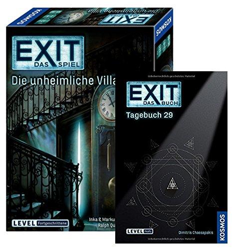 EXIT Kosmos Spiele 694036 - Juego de mesa (libro de 29 a 63 pueblos y misterios)