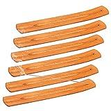Porta-Incienso de Madera Bambú Quemador de Incienso Incienso Ash Catcher Recogedor...