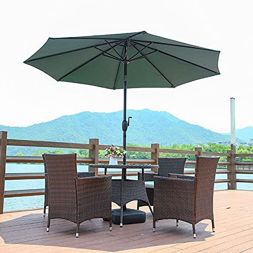 MRWW Parasol ogrodowy, paragüero Solar Ourdoor Parasol con
